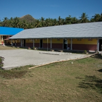 School building at Teku/Toweer