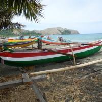 Canoes in Teku