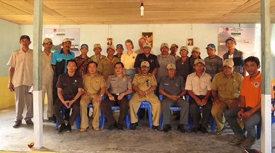 attendees at a law-enforcement workshop sponsored by AlTo