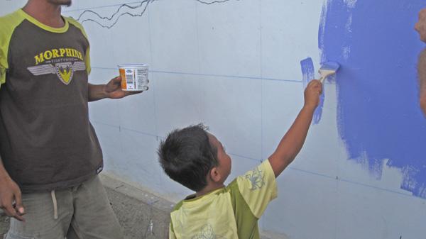 Taima schoolboy Iqbal beginning work