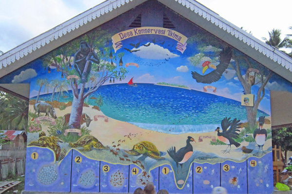 Taima Mural Completed