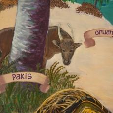 Anoa on Taima mural