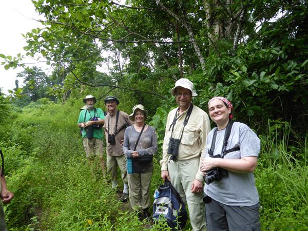 Hiking in Tangkoko
