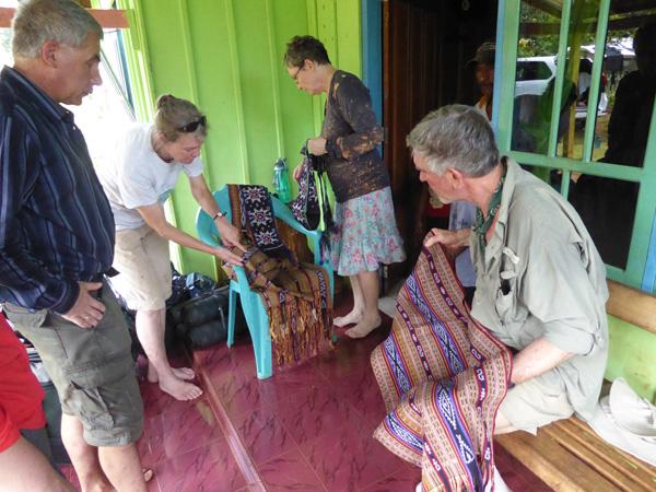 Ikat weavings