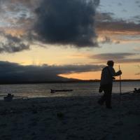 Sunset on Tangkuladi