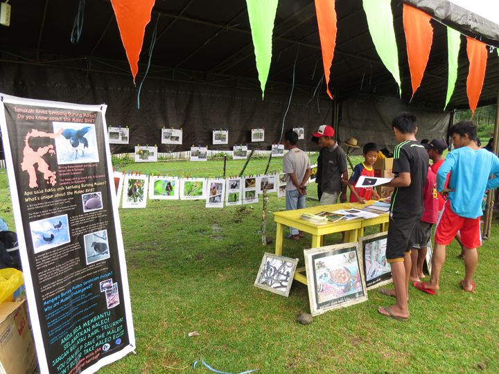 Nature photos and AlTo info booth